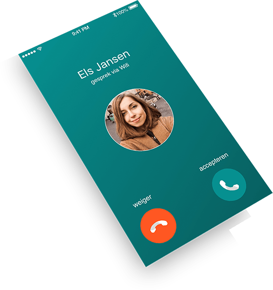 Belscherm Dubline - een telefoon met twee nummers