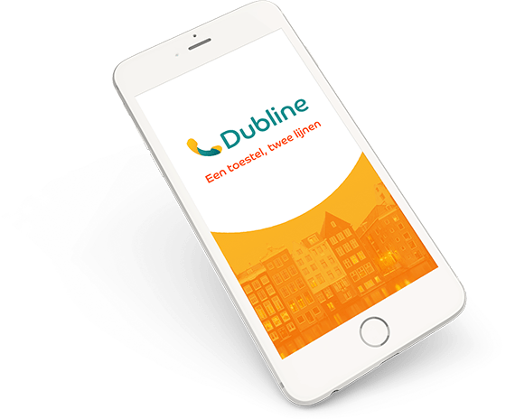 Iphone 6 met Dubline - een telefoon met twee nummers