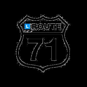 Rijschoolhouder Route 71