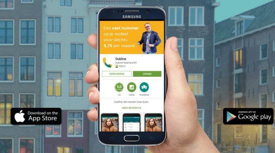 Preview van Dubline in de Google Play Store