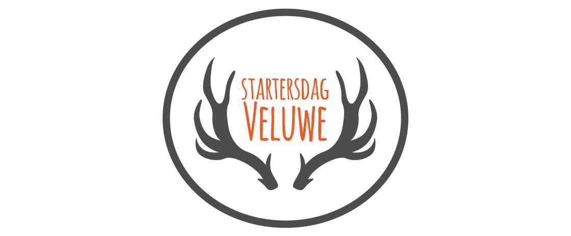 Banner voor de startersdag Veluwe - startende ondernemers