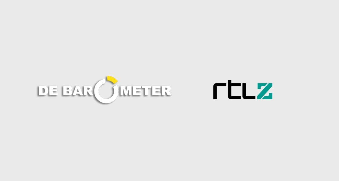Bannerafbeelding met de logo's van de Barometer en RTL Z