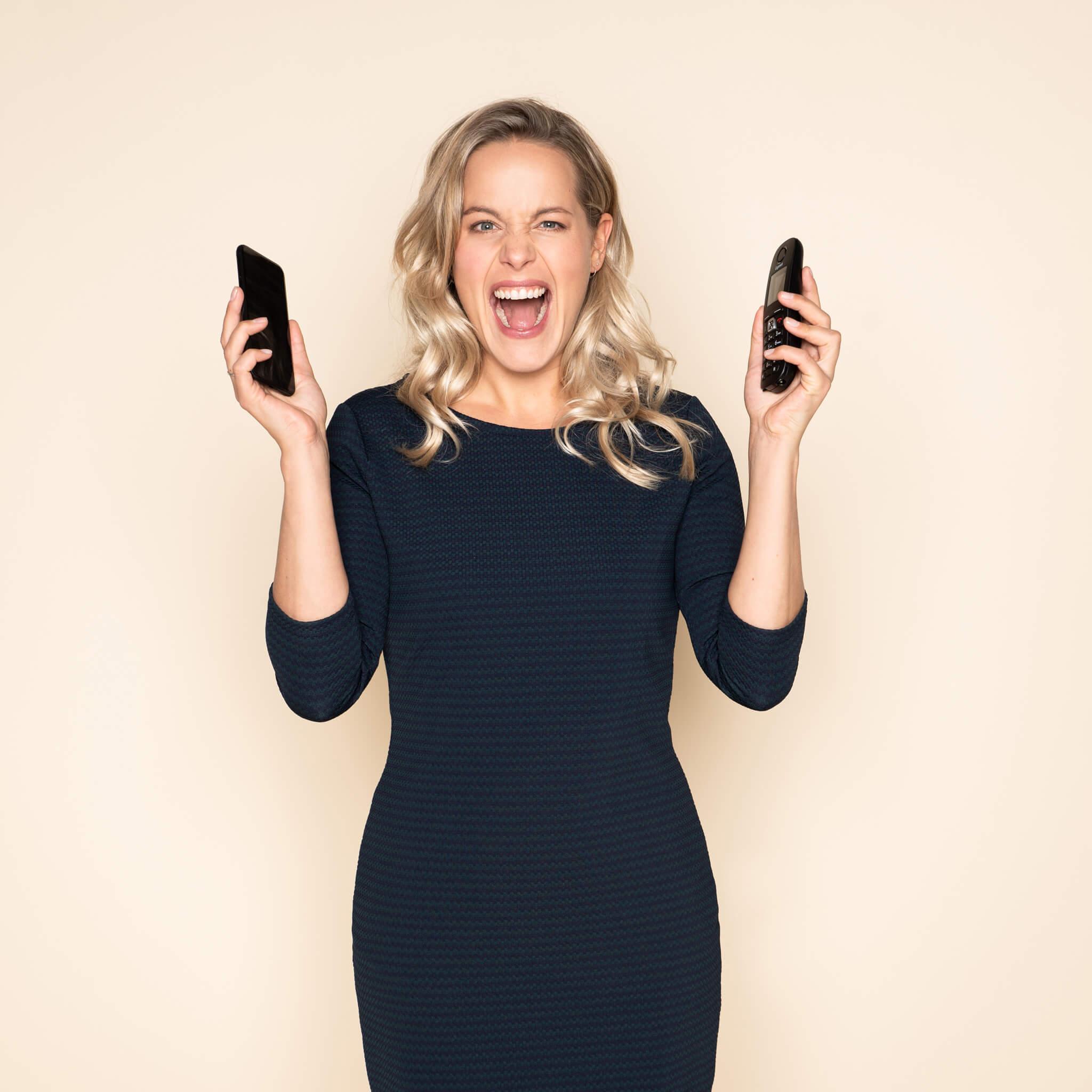 Mobiele telefoon doorschakelen verleden tijd