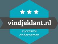 Logo vindjeklant.nl