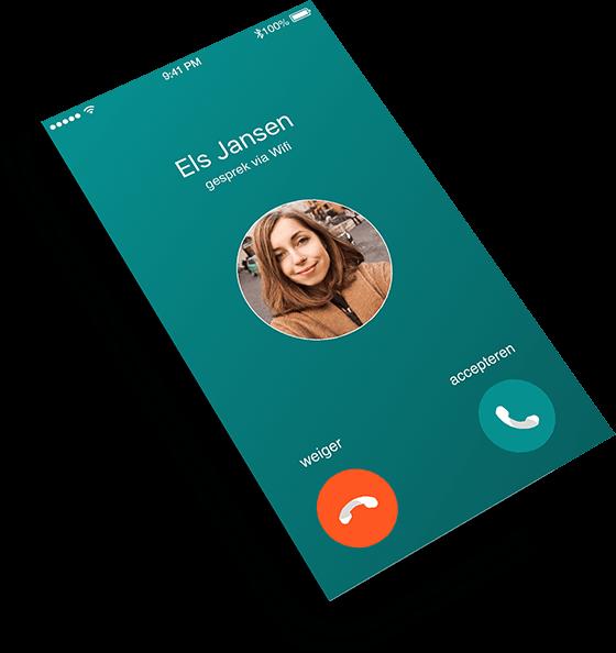 Nieuw telefoonnummer op niet storen zetten